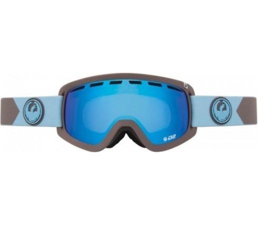 Ochelari Schi si Snowboard Dragon D2 Titian / Blue Steel + Yellow