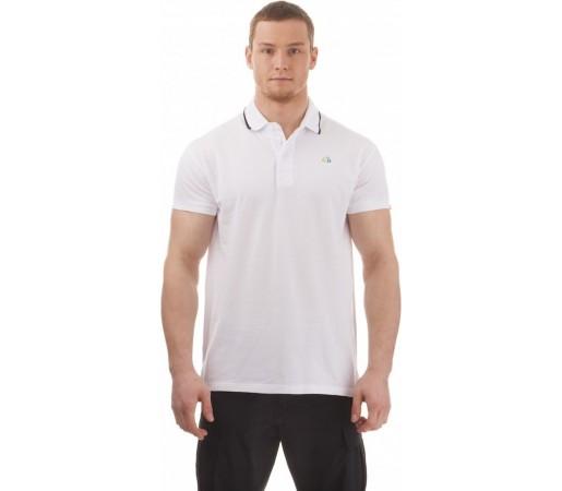 Tricou Polo Nordblanc Decent Men's Cotton Alb