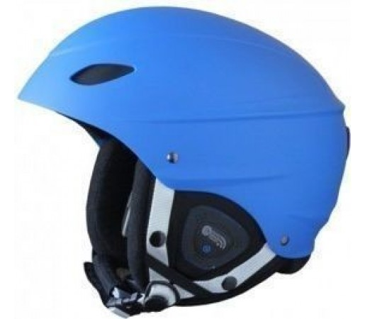 Casca Ski si Snowboard Demon Phantom Team Blue Audio 2012