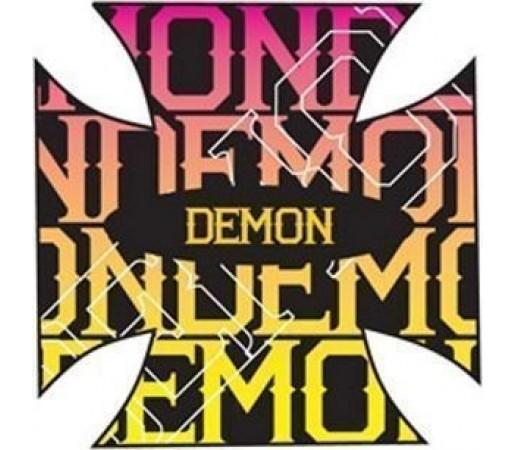 Stomp Pad Demon Cross Black