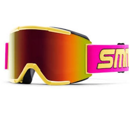 Ochelari ski si snowboard Smith Squad Stevens 1991 Red-Solx