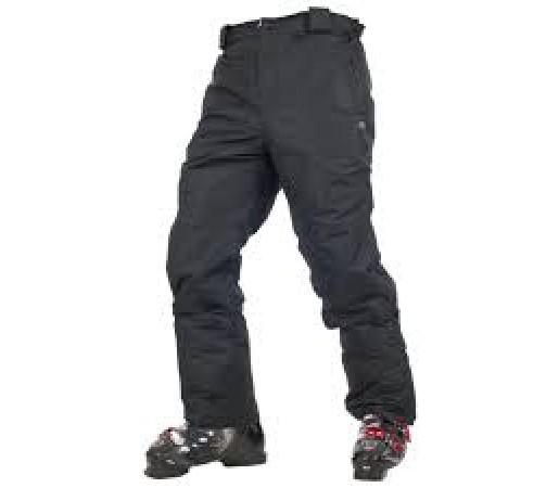 Pantaloni ski si snowboard Trespass Inlet Negri