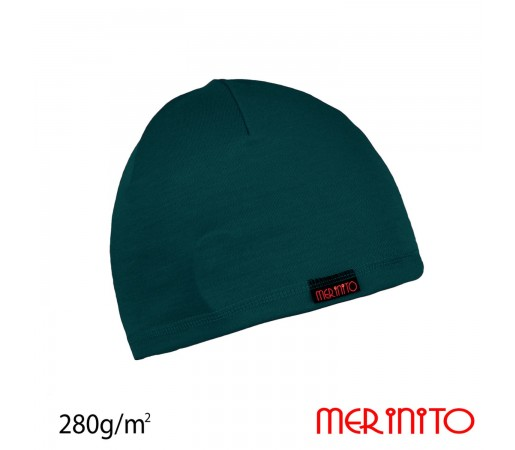 Caciula Unisex Merinito 280G Lana Merinos Verde