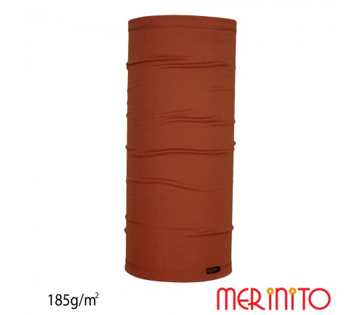 Neck Tube Merinito Merinos 185g Maro
