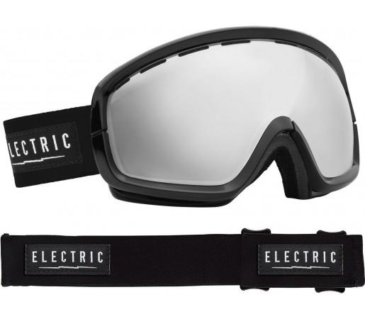 Ochelari Ski ELECTRIC EGB2s Gloss Black Bronze/Silver Chrome