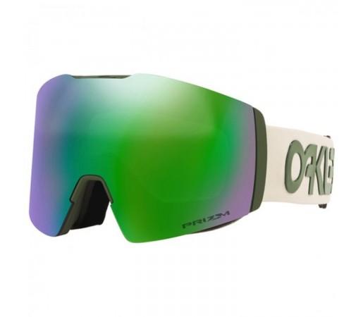 Ochelari Ski Si Snowboard Unisex Oakley Fall Line XL Factory Pilot Dark Brush Prizm Snow Jade Iridium Kaki