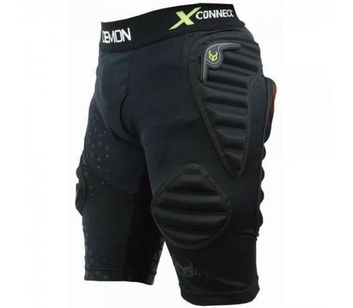 Pantaloni Protectie Barbati Demon Flex-Force X Short D3O V3 (Negru)