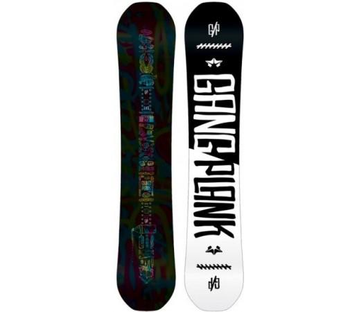 Placa snowboard Rome Gang Plank Neagra 2016