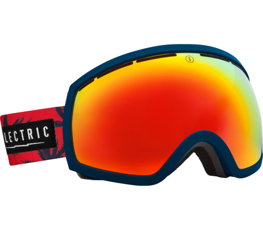 Ochelari Ski ELECTRIC EG2 Blue Fronds Bronze/Red Chrome