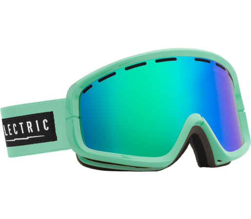 Ochelari Ski ELECTRIC EGB2 C Foam Bronze/Green Chrome