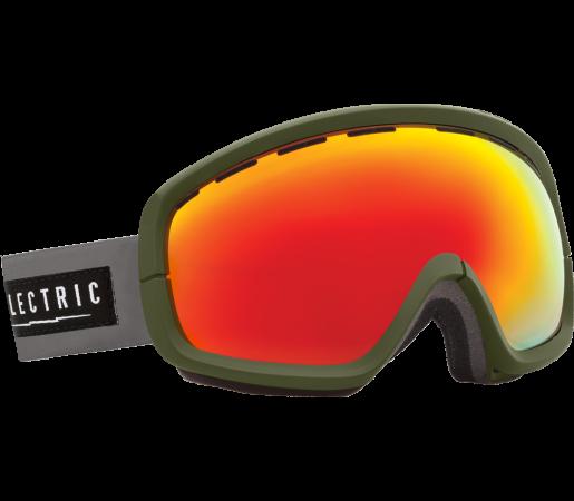Ochelari Ski ELECTRIC EGB2s Chopper Bronze/Red Chrome