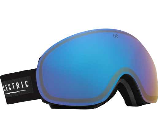 Ochelari Ski ELECTRIC EG3 Black Yellow/Blue Chrome