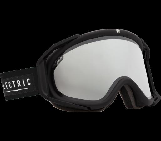 Ochelari Ski ELECTRIC Rig Gloss Black Bronze/Silver Chrome