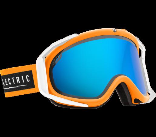 Ochelari Ski ELECTRIC Rig Biohazard Bronze/Blue Chrome