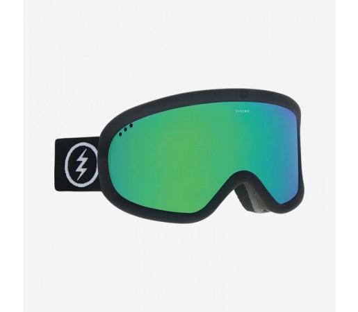 Ochelari Ski si Snowboard Electric CHARGER Matte Black / Brose Green Chrome