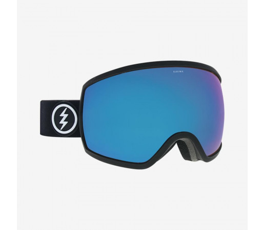 Ochelari Ski si Snowboard Electric EGG Matte Black / Auto Pure Blue Chrome
