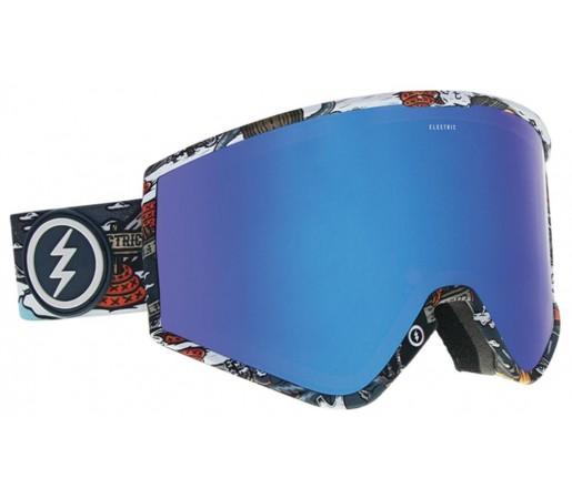 Ochelari Ski si Snowboard Electric KLEVELAND Nick Curl / Brose Blue Chrome