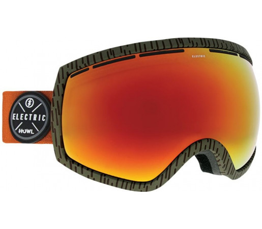 Ochelari Ski si Snowboard Electric EG2 Howl Collab / Brose Red Chrome