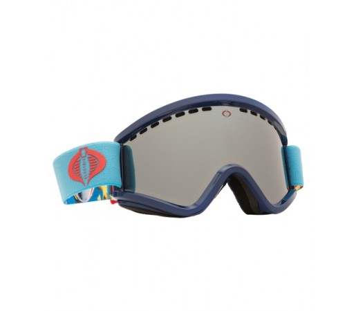 Ochelari de schi si snowboard Electric EGV G.I. Joe Cobra Bronze/ Silver Chrome + Light Green