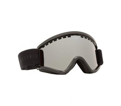 Ochelari de schi si snowboard Electric EGV Gloss Black Bronze/ Silver Chrome + Light Green