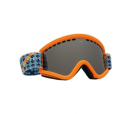 Ochelari de schi si snowboard Electric EGV Navy/ Blue Rope Bronze/ Silver Chrome + Light Green