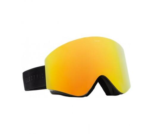 Ochelari de schi snowboard Electric EGX Gloss Black Bronze/ Red Chrome + Light Green