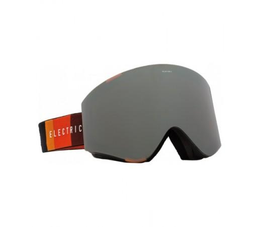 Ochelari de schi snowboard Electric EGX Orange Blast Black Bronze/ Silver Chrome + Light Green