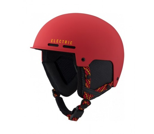 Casca schi/snowboard Electric Saint- Matte Red/Yellow
