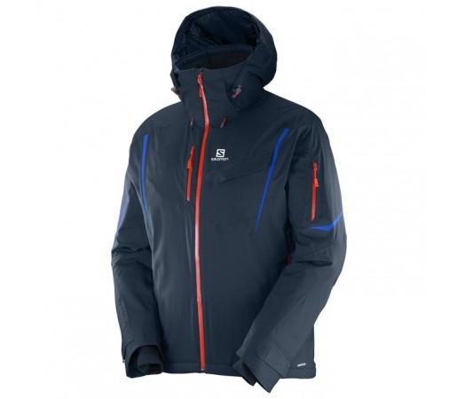 Geaca schi Salomon Enduro Jacket M Bleumarin