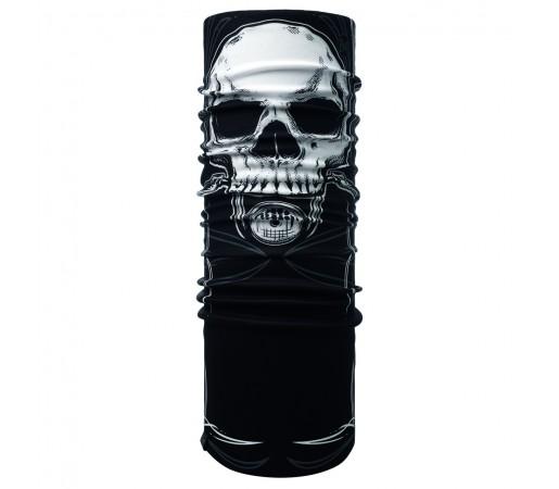 Neck Tube Buff Windproof Skull Rider Multi