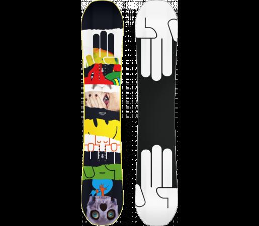 Placa Snowboard Bataleon Evil Twin Wide 2015
