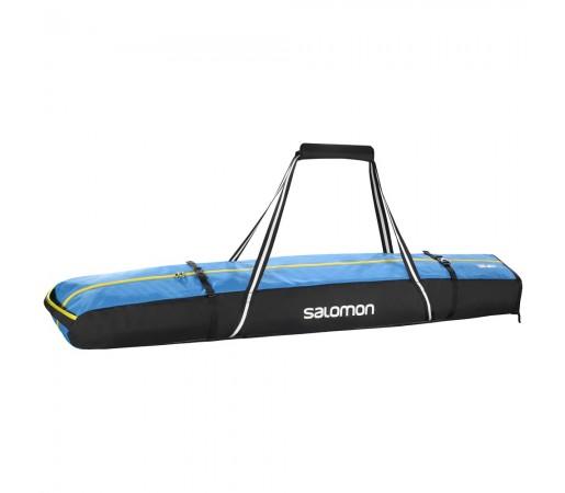 Husa schi Salomon Extend 2Pairs 175 + 20 Skibag Neagra/ Albastra
