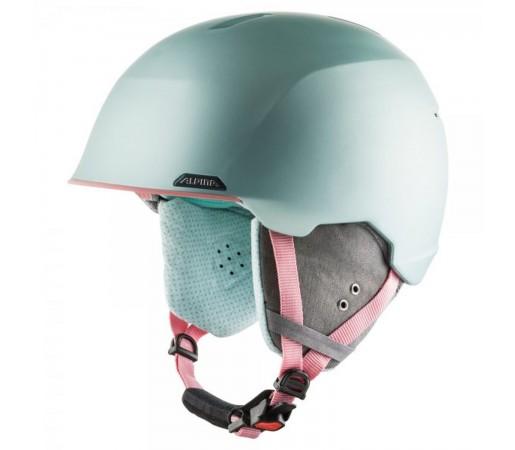 Casca Ski Si Snowboard Unisex Alpina Albona Seagreen/Coral Matt Vernil