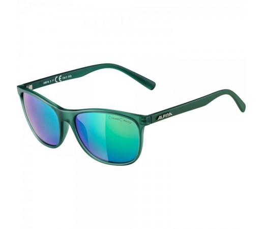 Ochelari De Soare Unisex Alpina Jaida Green Transparent Matt/Green Mirror Verde