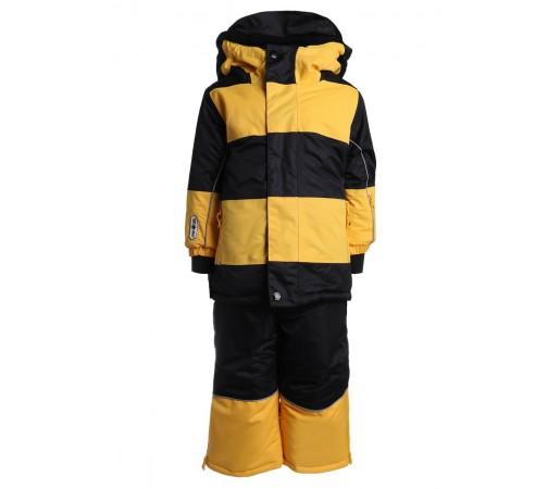 Costum Schi si Snowboard Flashy Stars Bee K Galben Negru
