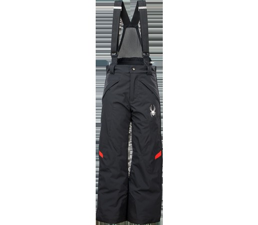 Pantaloni Schi si Snowboard Spyder Boy's Force Negru/Rosu
