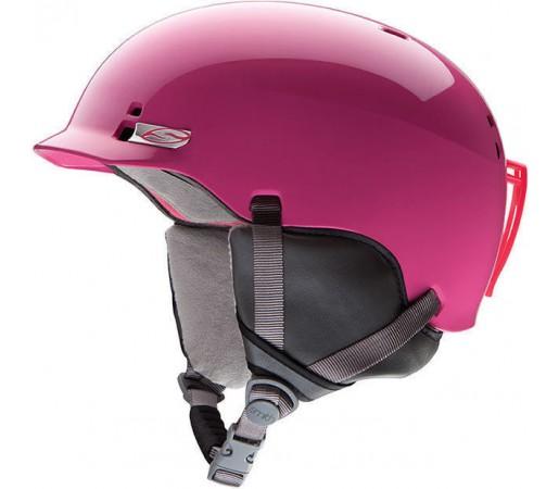 Casca Schi si Snowboard Smith Gage JR Bright Pink