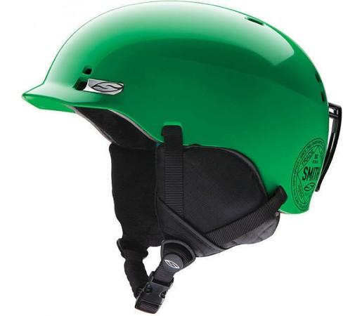 Casca Schi si Snowboard Smith Gage JR Neon Green