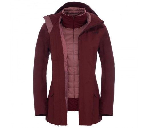 Geaca The North Face W Brownwood Triclimate Rosie