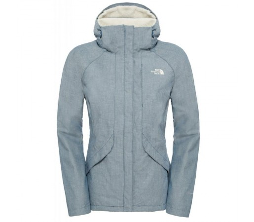 Geaca The North Face W Inlux Insulated Albastra