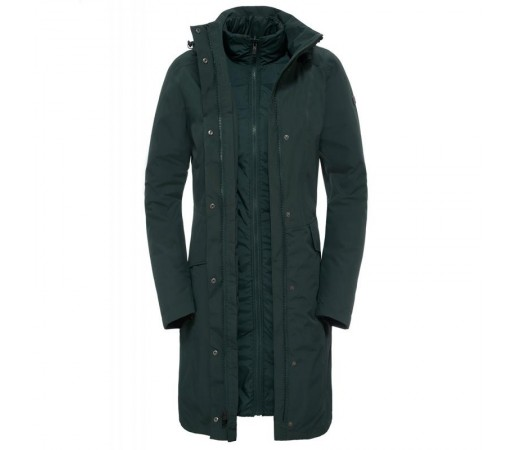 Geaca The North Face W Suzanne Triclimate Verde