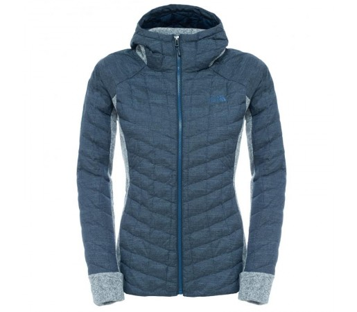 Geaca The North Face W Thermoball Gordon Lyons Hoodie Albastra/Gri