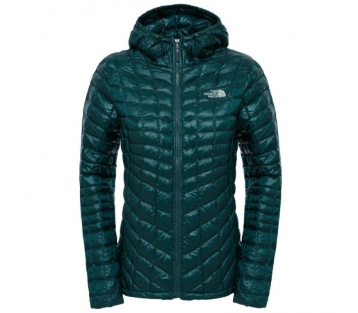 Geaca The North Face W Thermoball Hoodie Verde