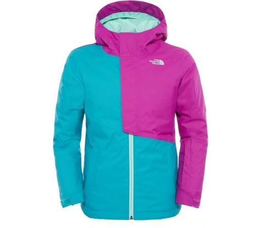 Geaca The North Face G Insulated Casie Verde/Mov