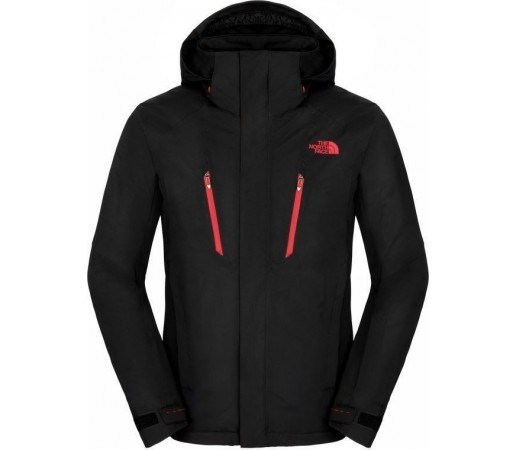 Geaca The North Face M Jeppeson Black/Red