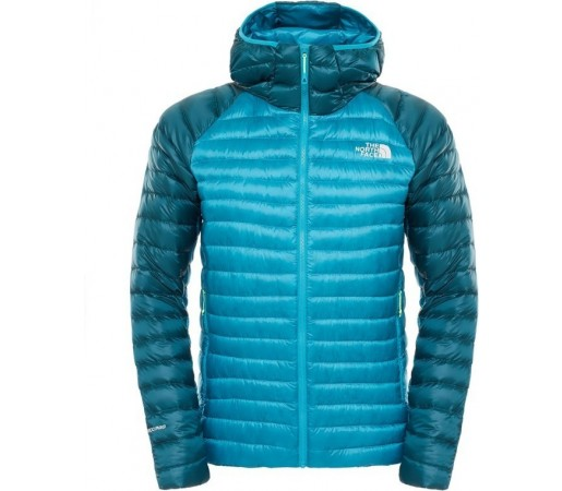 Geaca The North Face M Quince Pro Hooded Albastra/Verde