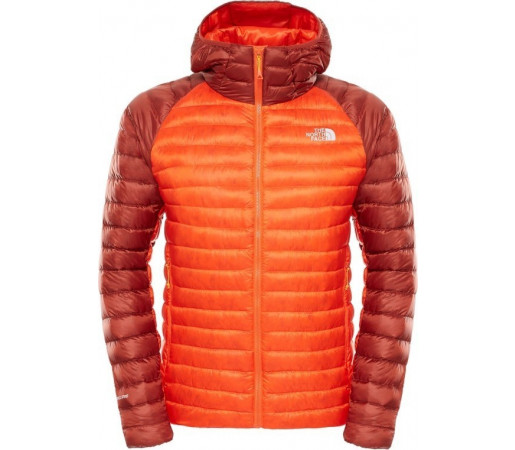 Geaca The North Face M Quince Pro Hooded Portocalie/Rosie
