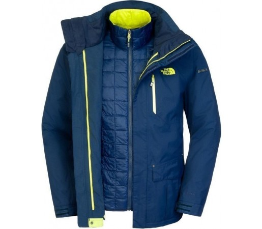 Geaca The North Face M Thermoball Snow Triclimate Blue
