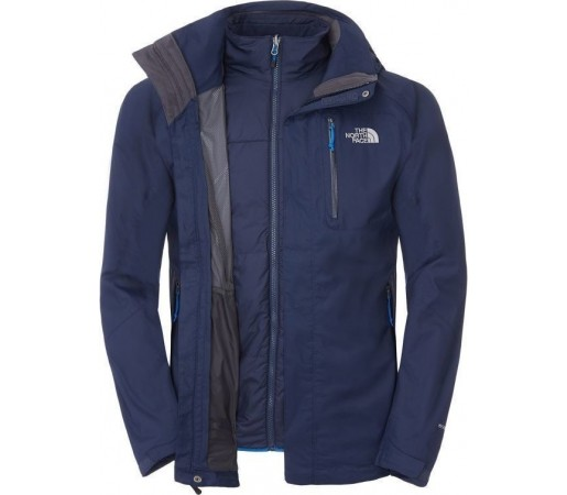 Geaca The North Face Zenith Triclimate Cosmic Blue