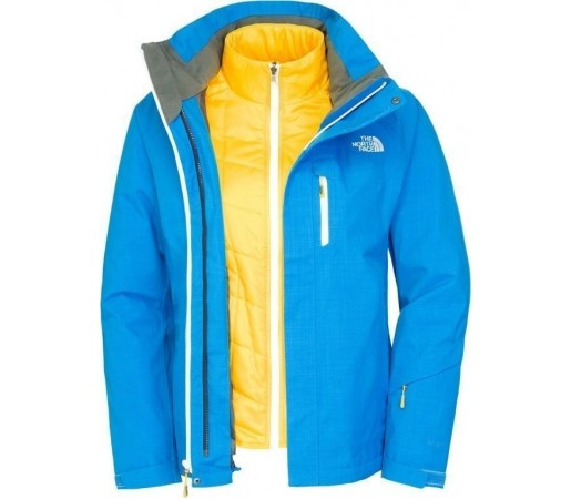 Geaca The North Face W Cheakamus Triclimate Blue